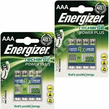 8x AAA Energizer 700mAh Power Plus Pilas Recargables ACCU 700