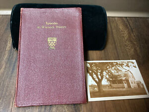 1937 antique book episodes in warwick history rhode island ernest lockwood photo