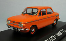 SCHUCO 1967 NSU 1000 TTS (Orange/Inca Red) 1/43 Scale Diecast Model NEW, RARE!