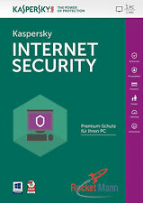Kaspersky Internet Security 2018 1PC / Gerät 1Jahr Vollversion Aktivierung Key