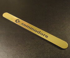 Commodore C64 Gold Label / Aufkleber / Sticker / Badge / Logo 11 x 1,1cm [241b]