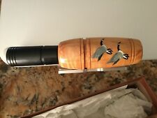 Glynn Scobey Goose Call Model 402 Beautiful Signed Edition