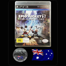 Epic Mickey 2: The Power of Two (Sony PS3)  VGC + MANUAL - FAST POST - OZ SELLER