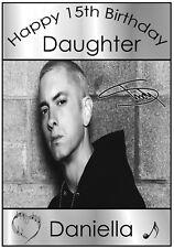 Eminem Inspired Birthday Card - Personalised & Awesome !