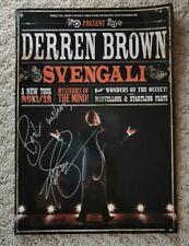More details for signed derren brown svengali tour programme