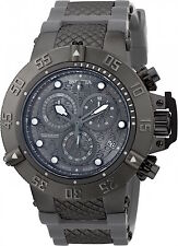 90116 Invicta 50mm Subaqua Noma III Swiss Chrono Black/Charcoal Dial Strap Watch