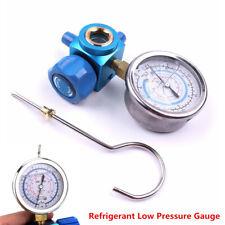 R410A R22 R134A 1/4 Car Air Conditioning Refrigerant Low Pressure Gauge Meter x1