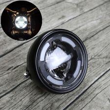 "Universal White LED 6.5"" Motorcycle Bike Front Headlamp Driving Fog Light Refit"
