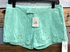 COTTON CANDY FLORAL GREEN WOMENS SHORTS NWT SIZE M
