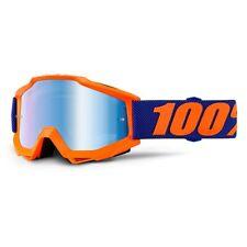 Maschera 100% Occhiali MX MTB DH Motocross Nuovo Accuri Origami Lente a Specchio