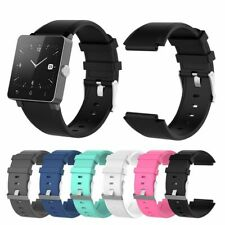 Silicone Replacement Wristband Strap Watch Bracelet for Sony Smartwatch 2 SW2 SE
