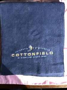 Cottonfield Adults Fleece Blue Scarf