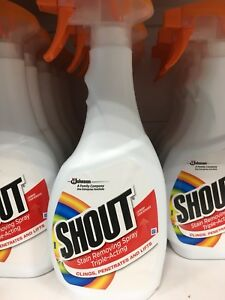 Shout Stain Removing Spray 500 ml (Pack of 4)