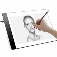 LED A4 USB Artist Tattoo Stencil Board Light Box Tracing Drawing Board Pad Table