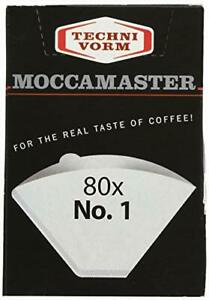 Technivorm Moccamaster 85090 cupOne Paper Filters, Size, White
