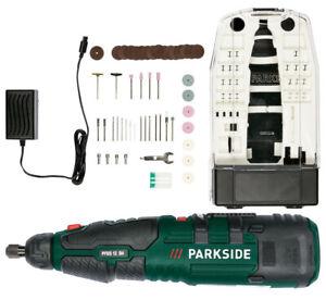 Parkside Akku-Feinbohrschleifer Multifunktionswerkzeug + Zubehörset für Dremel