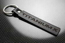 Ford Titanium X Leather Keyring Keychain Schlüsselring Porte-clés Mondeo Galaxy