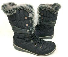 NEW! Columbia Women's Heavenly Omni-Heat Winter Boots Black #BL1661-010 172T y