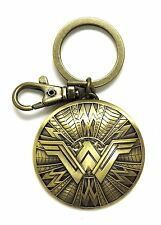 New Wonder Woman Shield Pewter Keyring Keychain  Movie