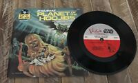 1983 STAR WARS Planet Of The Hoojibs BOOK 33 1/3 RPM RECORD SET Chewbacca #454