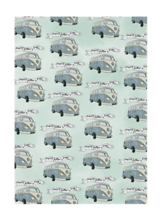 Amelia Florence - Gift Wrap - Camper Van - Happy Fathers Day