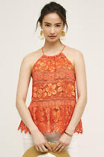 NWT Anthropologie Mandarine Halter Tank, by Tracy Reese - size L