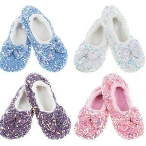 Snoozies  cosy feet coverings Style Dazzle Bling Ballet Colour Various New