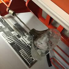 CARLO NASON lampada lampadario MAZZEGA vetro murano design anni 60 70 chandelier