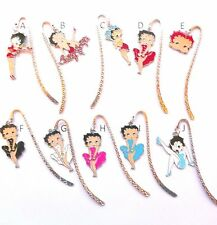 Choose your favourite Betty Boop Novelty Charm Pendant Bookmark + Organza Bag