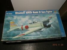 TRUMPETER 1/24 JAPAN MITSUBISHI A6M2B ZERO FIGHTER TYPE 21 KIT FIGHTER PLANE