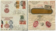 MEXICO to USA Cover Collection Stamps Postage Registered Cachet Latin America
