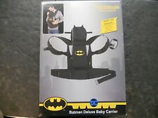 KidsEmbrace Deluxe Baby Carrier Hood Batman Toddlers Padded (O)