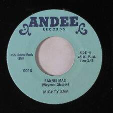 MIGHTY SAM: Fannie Mac / Badmouthin' 45 Soul
