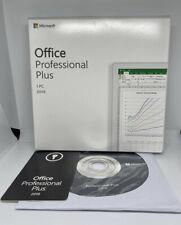 Microsoft Office 2019 Professional Plus Retail DVD for Windows 10 (1PC)