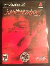 Shin Megami Tensei: Nocturne (Sony PlayStation 2, 2004)