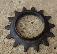 "Un-Branded STEEL 14T 1/8"" VINTAGE FIXED/ TRACK BICYCLE SPROCKET"