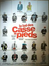 Affiche cinéma  LE BAL DES CASSE PIEDS YVES ROBERT - 120 x 160 cm