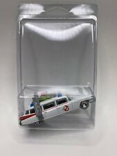 Hot Wheels 2015 Ghostbusters Ecto-1A Movie Real Riders White Walls Rare HTF New