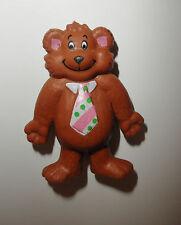 "CMI Henton Teddy Bear Toy Figure PVC 2"" Hard Rubber Rare Collectible Figurine"