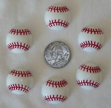 6 BASEBALL TAKE ME OUT TO THE BALL GAME HOME RUN FLATBACK FLAT BACK RESINS