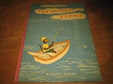 LES VACANCES DE ZEPHIR - JEAN DE BRUNHOFF - ALBUMS BABAR HACHETTE 1947 BE