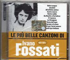 IVANO FOSSATI DELIRIUM OSCAR PRUDENTE CD ITALY sealed LE PIU BELLE CANZONI