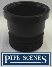 "Drain Adapter 4"" Soil PVC Waste to Clay Cast Iron Converter Plumbing Adaptor"