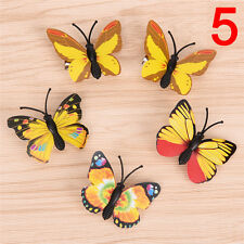 5X New Butterfly Hair Clips Bridal Hair Accessories Wedding Photography Costume