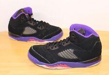 Nike Air Jordan Shoes Sneakers Basketball GS 3Y Retro Raptors GP Ember V 5 Glow