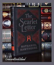 The Scarlet Letter By N. Hawthorne Brand New Leather Bound Collectible Edition