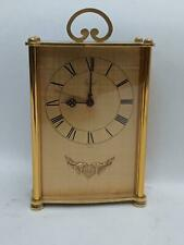 Vintage  SWISS IMHOF REUGE MUSIC BOX 8 DAY MUSICAL ALARM  DESK CLOCK (see video)