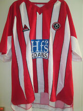 "Sheffield United Home 2004-2005 Football Shirt Size 50-52"" Adult /35032"
