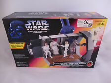 Star Wars POTF 2 carcerarie blocco Rescue Canadian box misb