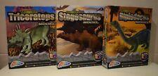 Grafix 3D Moveable Dinosaur Figure Stegosaurus Diplodocus Or Triceratops